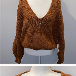 Free People sweater, great color